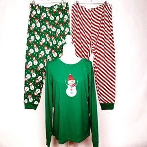 Gymboree Adult Christmas Pajamas XL
